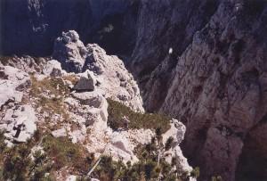 Lungo scalata della Torre dei Feruch