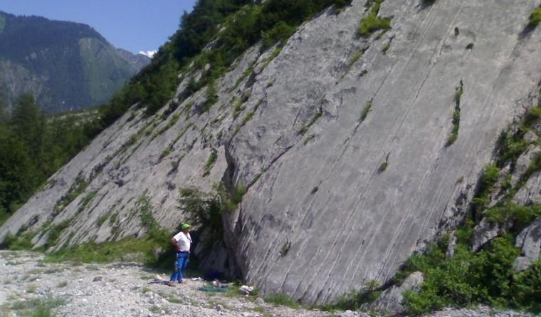 Falesia della Val D'Oten - Placche