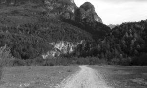 Palestra di roccia della Val Gallina, ingresso della valle