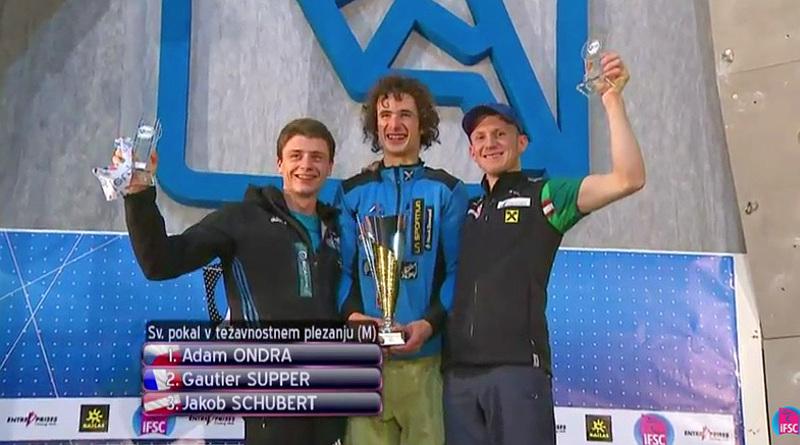 Coppa del mondo arrampicata sportiva lead (Photo by IFSC)