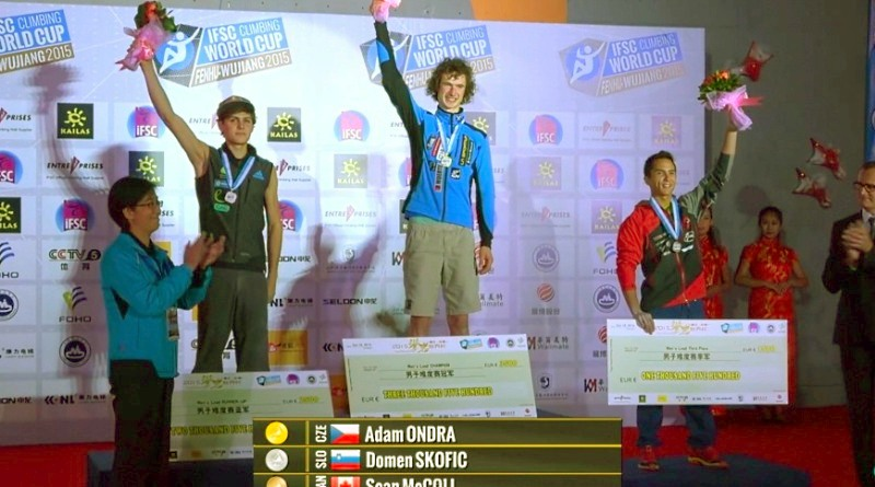 Coppa del mondo arrampicata sportiva lead (Photo by IFSC)