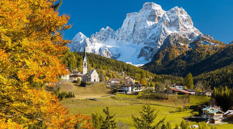 Il Pelmo da Santa Fosca: le più belle immagini delle Dolomiti