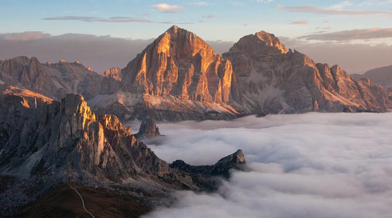 Le piu' belle immagini delle Dolomiti: la Tofana di Rozes