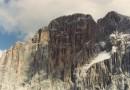 La parete nord ovest della Civetta