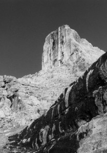 La Torre di Valgrande dal sentiero Tivan