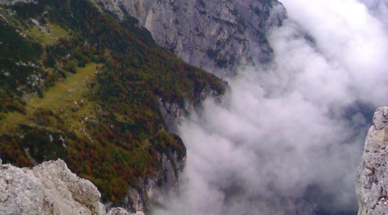Dalla cima del Pizzocco verso nord-est