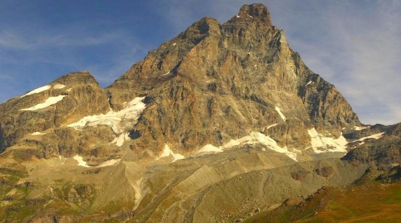 Il Cervino con la Cresta del Leone da sud (Plain Maison): salita del Cervino, tutte le informazioni