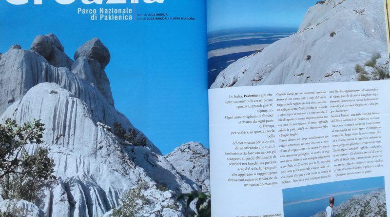 """Articolo di Luca Bridda apparso sulla rivista Alp n. 284 e intitolato """"Croazia, Parco Nazionale di Paklenica"""". Articolo dedicato alle più importanti e interessanti escursioni all'interno del Parco Nazionale di Paklenica, in Croazia."""