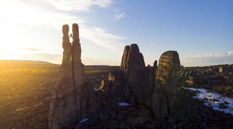 Kilian Fischhuber & Co. sui Sundrun Pillars in Siberia